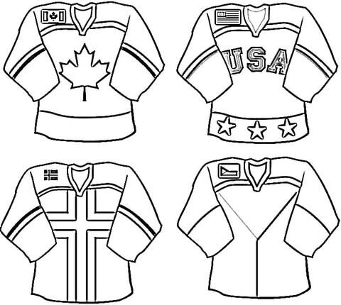 dibujo de uniformes de la liga nacional de para colorear