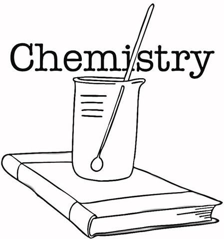 chemistry coloring page free printable coloring pages
