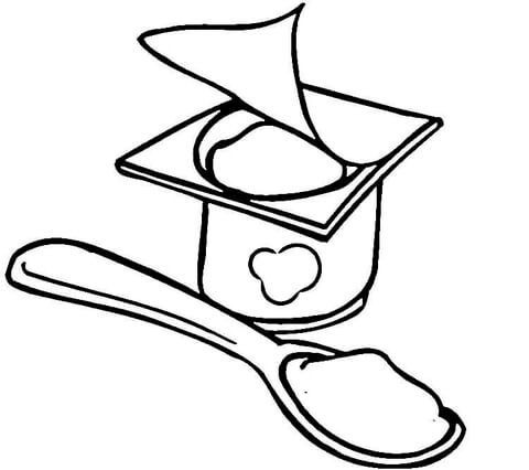 healthy food coloring pages # 89