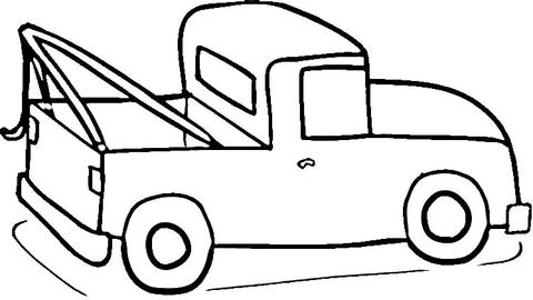 pickup truck coloring page free printable coloring pages