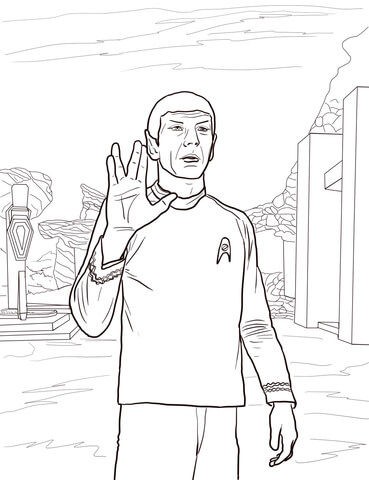 star trek coloring pages # 0