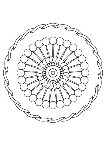 Ausmalbild Mandala Ornament Ausmalbilder Kostenlos Zum