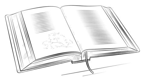 coloriage livre ouvert coloriages à imprimer gratuits