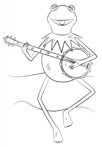 Gambar The Muppets Kermit Coloring Pages Location Chicago Coloring ...
