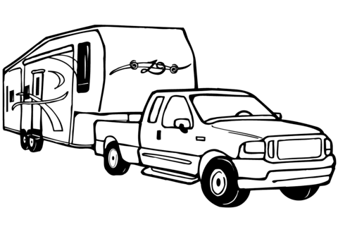 pickup trucks coloring pages free coloring pages