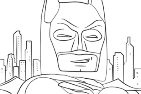 Free Printable Coloring Pages Click The Lego Batman To View Version Or Color It Online Compatible With IPad And Android Tablets
