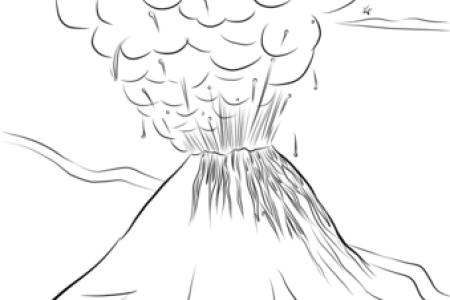 imagenes de erupciones volcanicas para dibujar » Full HD MAPS ...