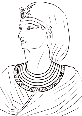 Queen Hatshepsut Coloring Page Free Printable Coloring Pages