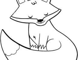 Dibujos De Zorros Animados Para Dibujar On Log Wall