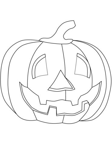 Disegno Di Zucca Di Halloween Da Colorare Disegni Da