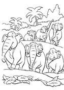 jungle book coloring pages free coloring pages