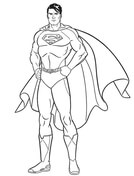 superman coloring pages free coloring pages
