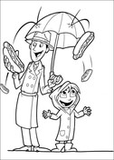 cloudy with a chance of meatballs coloring pages # 73