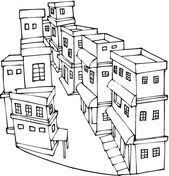 Houses Coloring Pages Free Coloring Pages