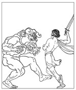 greek mythology coloring pages free coloring pages
