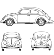 volkswagen beetle coloring page free printable coloring pages