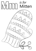 Letter M Coloring Pages Free Coloring Pages