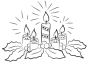 Advent Coloring Page Free Printable Coloring Pages