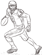 Football Coloring Pages Free Coloring Pages