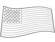 American Flag Coloring Pages Free Printable Pictures