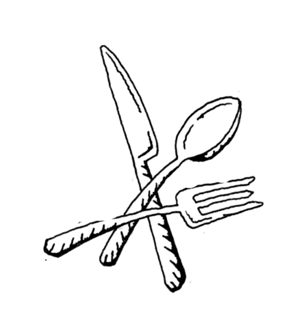fork spoon and knife supercoloring com