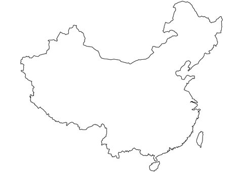 amisbide china flag coloring page