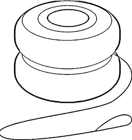 yoyo coloring page free printable coloring pages