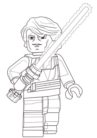 wars anakin skywalker coloring page free printable coloring pages