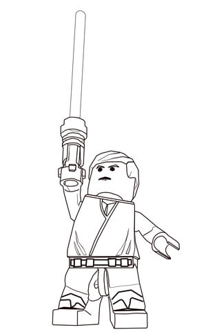 Coloring Pages Star Wars Yoda Star Wars Lego Coloring Pages