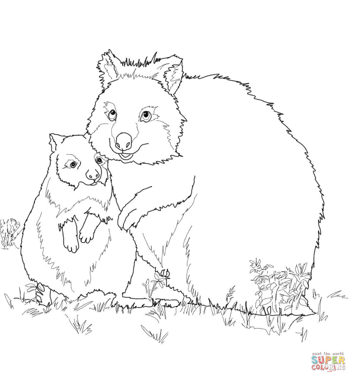 mother and baby horse coloring pages coloring pages
