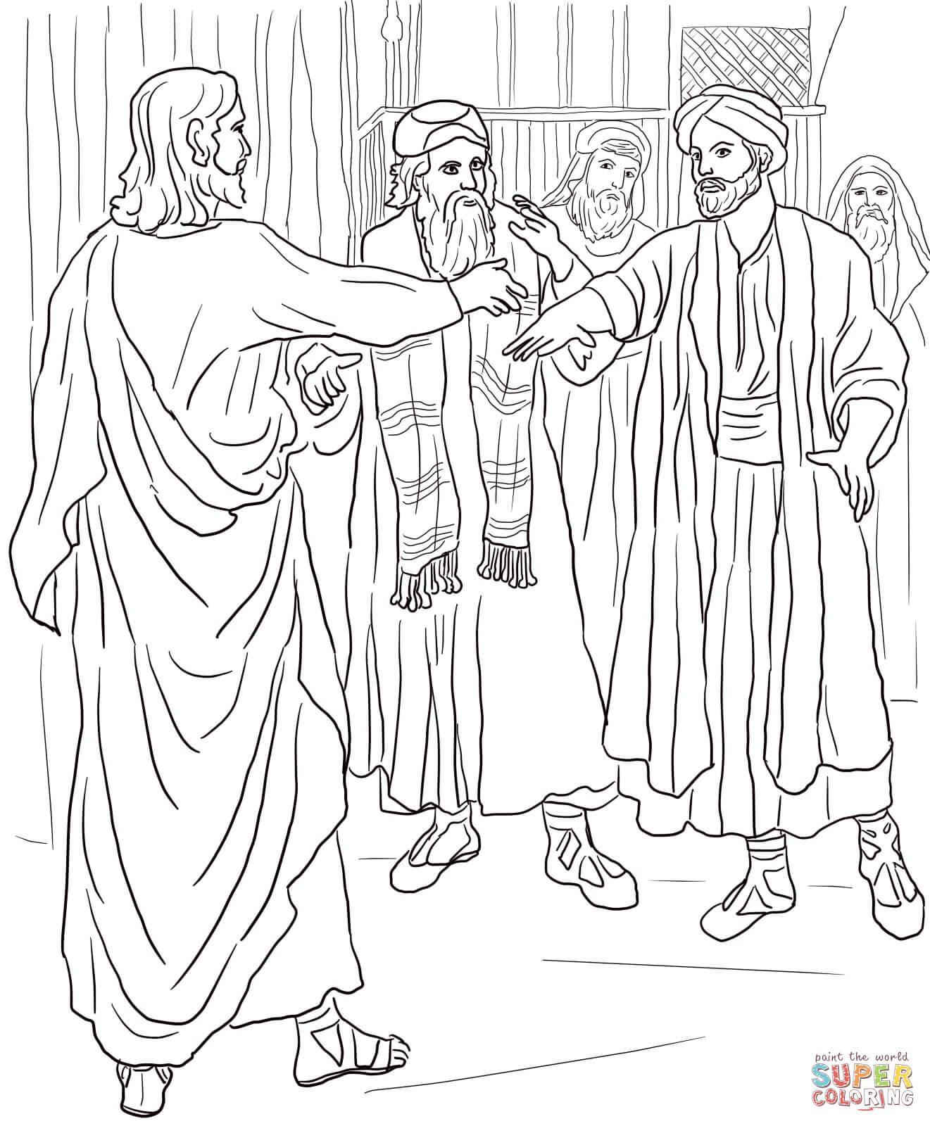 Jesus Heals Jesus And Hands