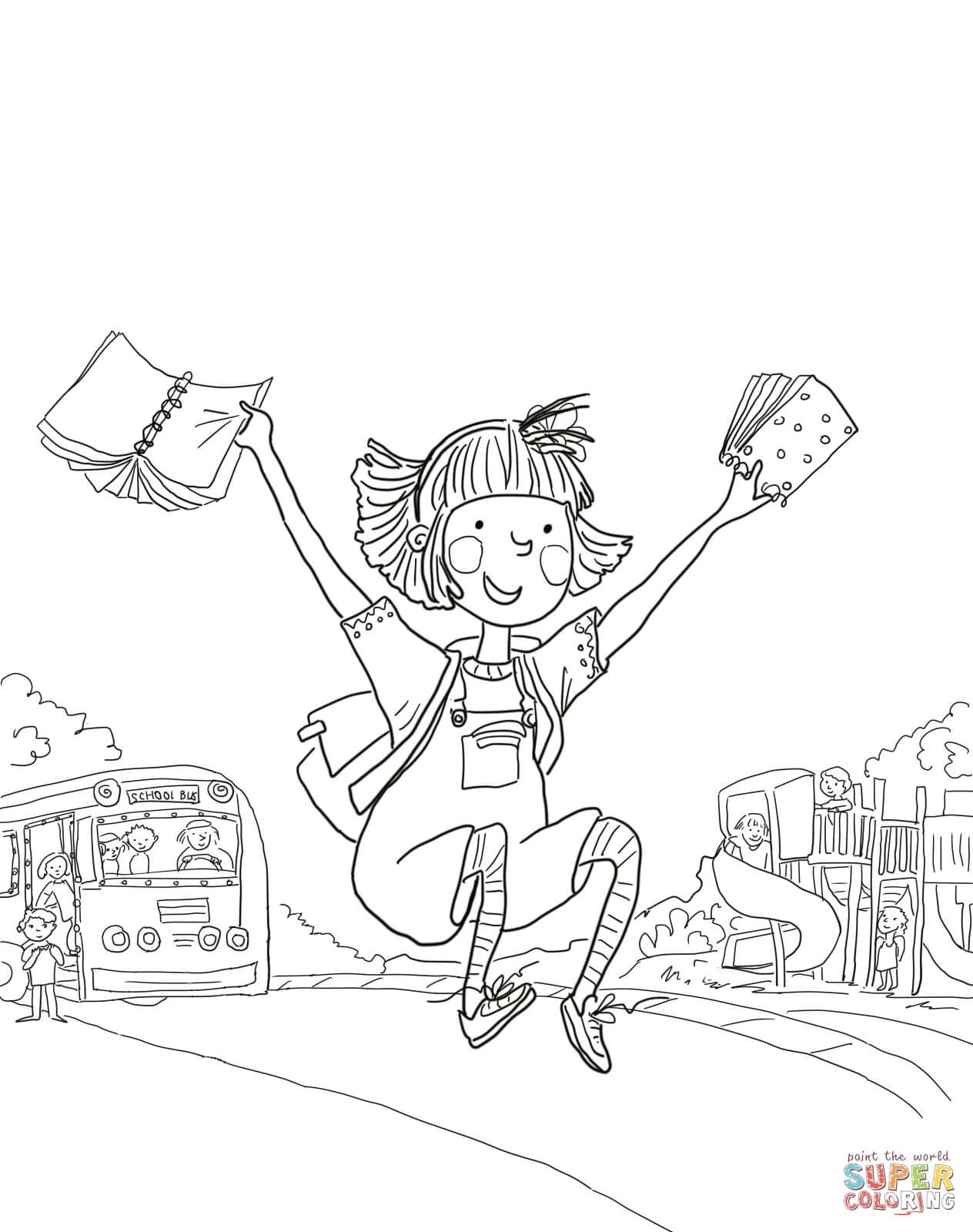 Free Worksheet Amelia Bedelia Worksheets first day of school coloring amelia bedelia online super coloring