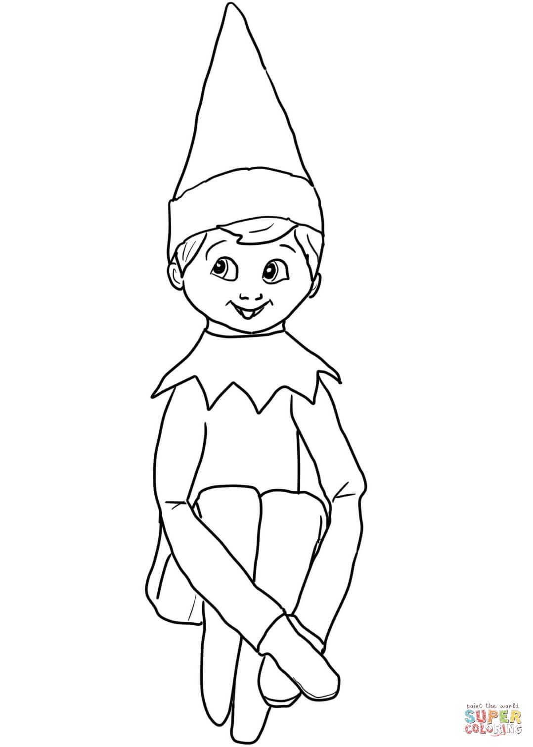elf face coloring page http fastseoguru com christmas printable