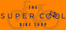 Super Cool Bike Shop Logo