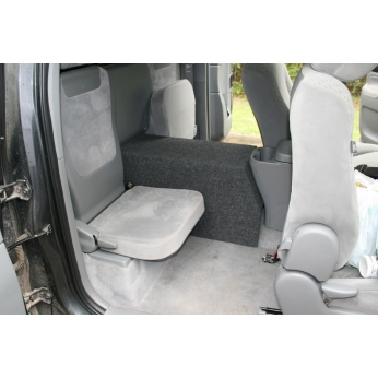 Toyota Tacoma Extended Cab 10 14 Console Subwoofer Box