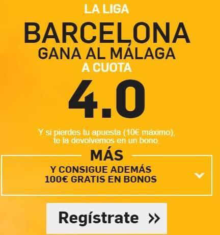 supercuota betfair barcelona-malaga