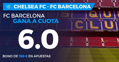 Supercuota Paston Champions League Chelsea FC - FC Barcelona