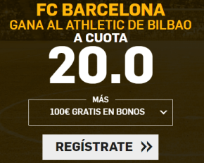 Supercuota Betfair la Liga FC Barcelona - Athletic Bilbao