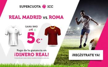 Supercuotas Wanabet Real Madrid - Roma