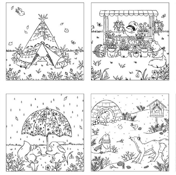Kawaii Printable Coloring Pages Super Cute Kawaii