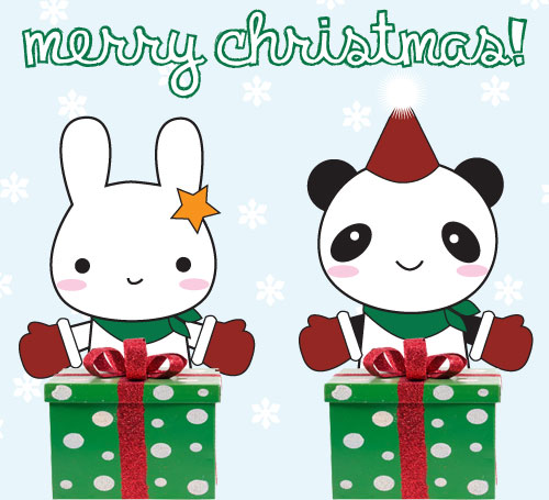 Merry Christmas Super Cute Kawaii
