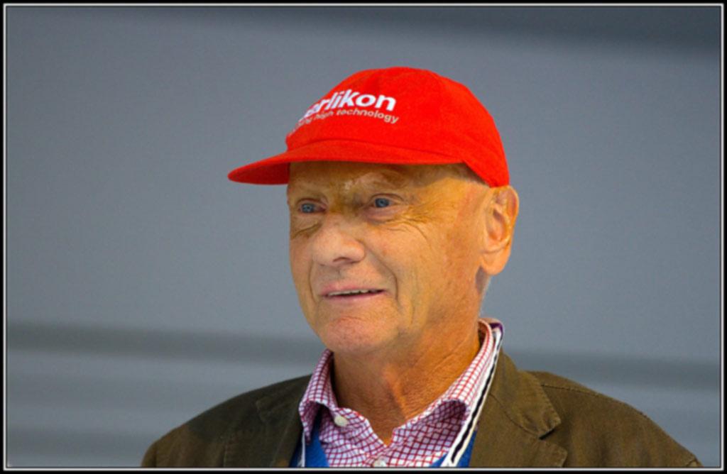Niki Lauda em 2009 foto by André Zehetbauer