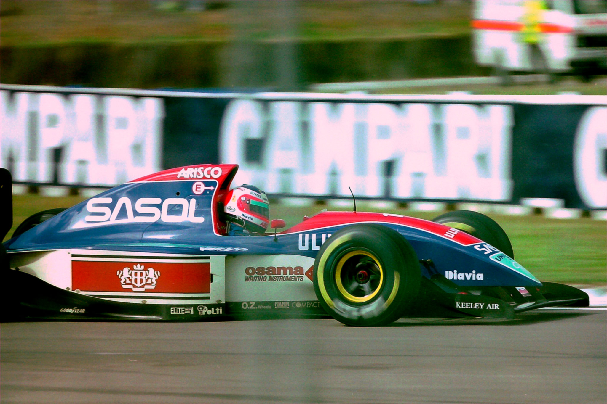 F1 Rubens Barrichello em 1993 - foto by Martin Lee - Flickr