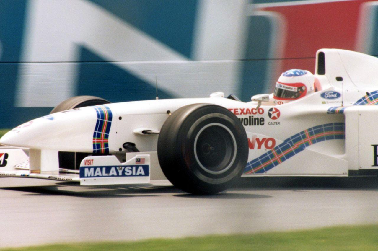 F1 Rubens Barrichello em 1997 foto by Flickr Rick Dikeman