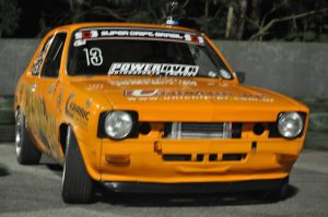 Chevette Turbo 2.0 Laranja do Piloto Lúcio Turossi no SDB