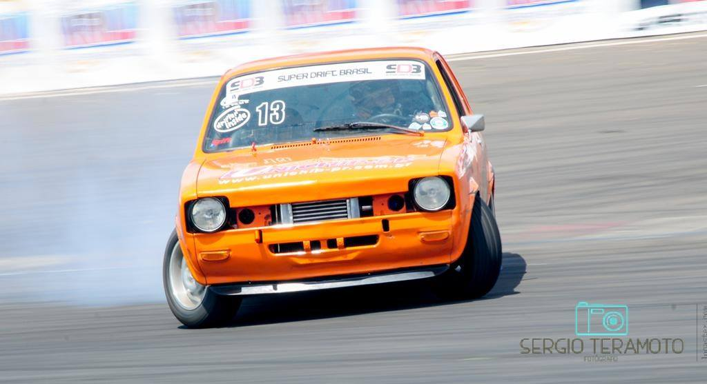 Chevette de Drift do Piloto Lúcio Turossi no Super Drift Brasil 2017
