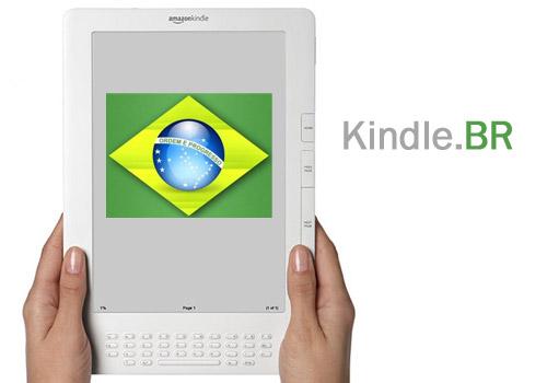 O Kindle Chegou ao Brasil