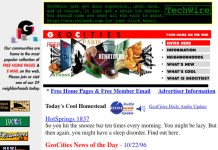 O Fim do GeoCities