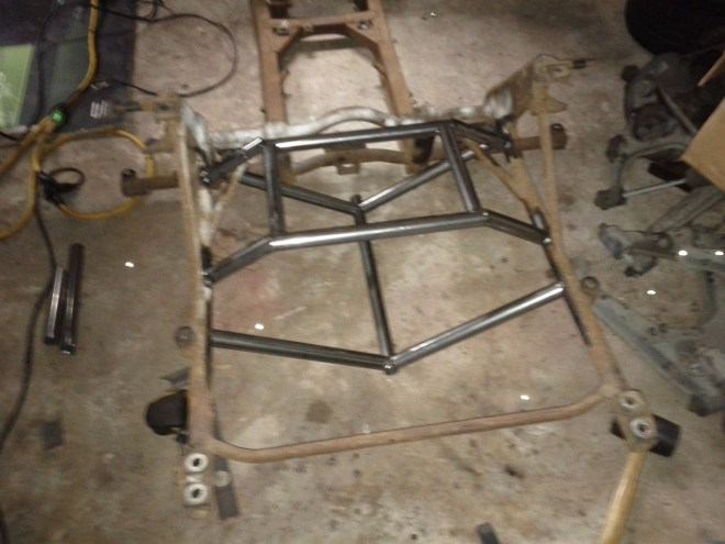 Rear Subframe Build 1