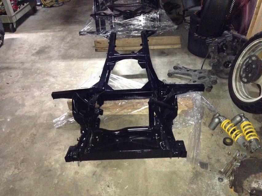 powdercoat frame